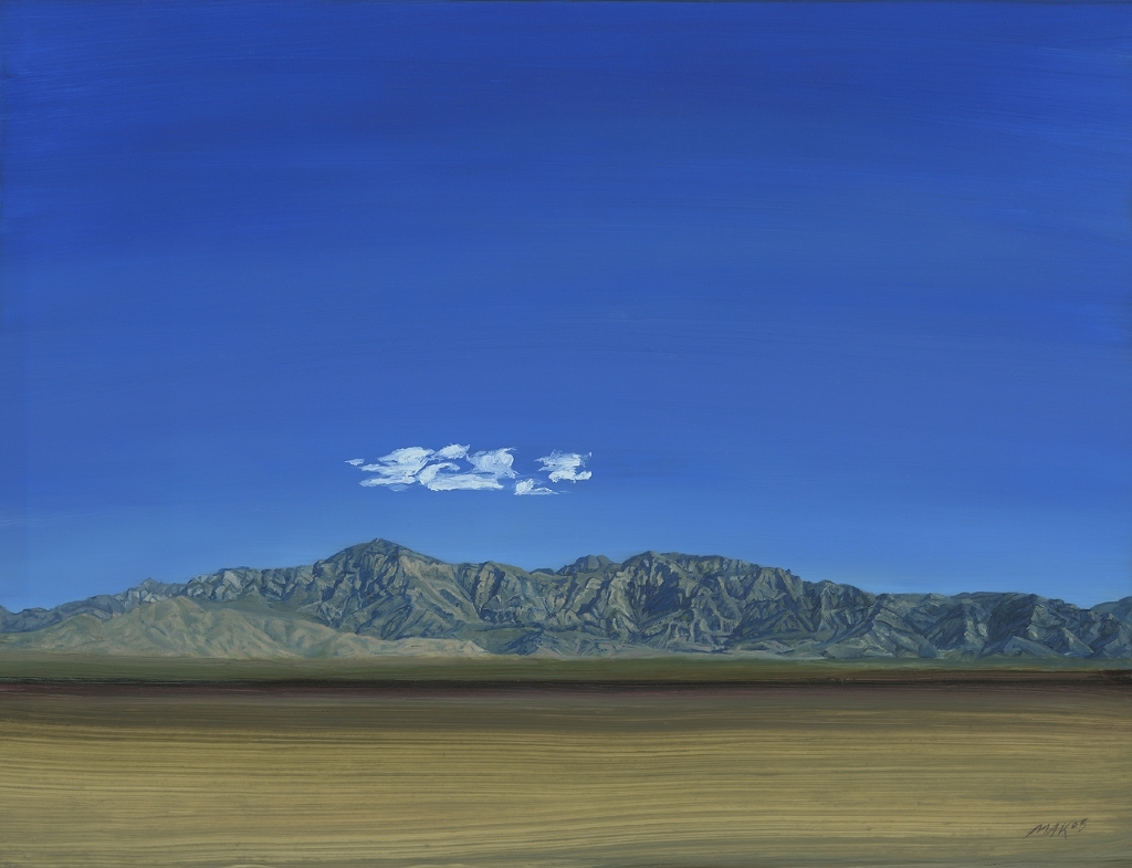 "Providence Mts, East Mojave by Mary-Austin Klein Oil ~ 6"" x 8"""