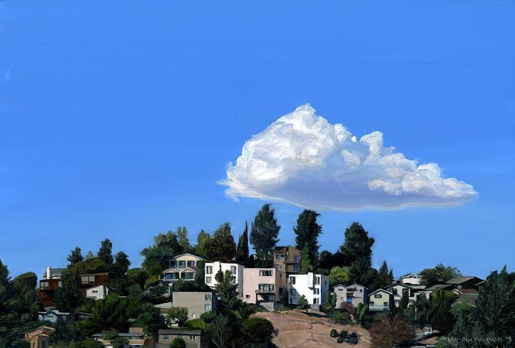 "Hillside Homes by Mary-Austin Klein Oil ~ 5.5"" x 8"""