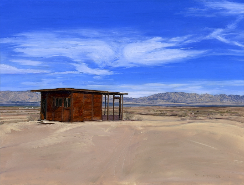 "Wonder Valley Claim Shack by Mary-Austin Klein Oil ~ 6"" x 8"""