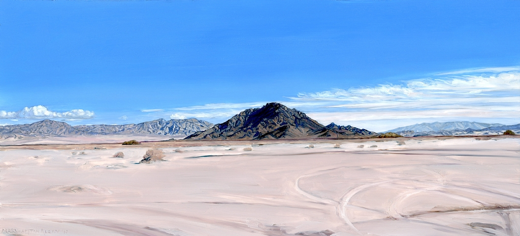 "Devil's Playground, East Mojave by Mary-Austin Klein Oil ~ 6"" x 10"""