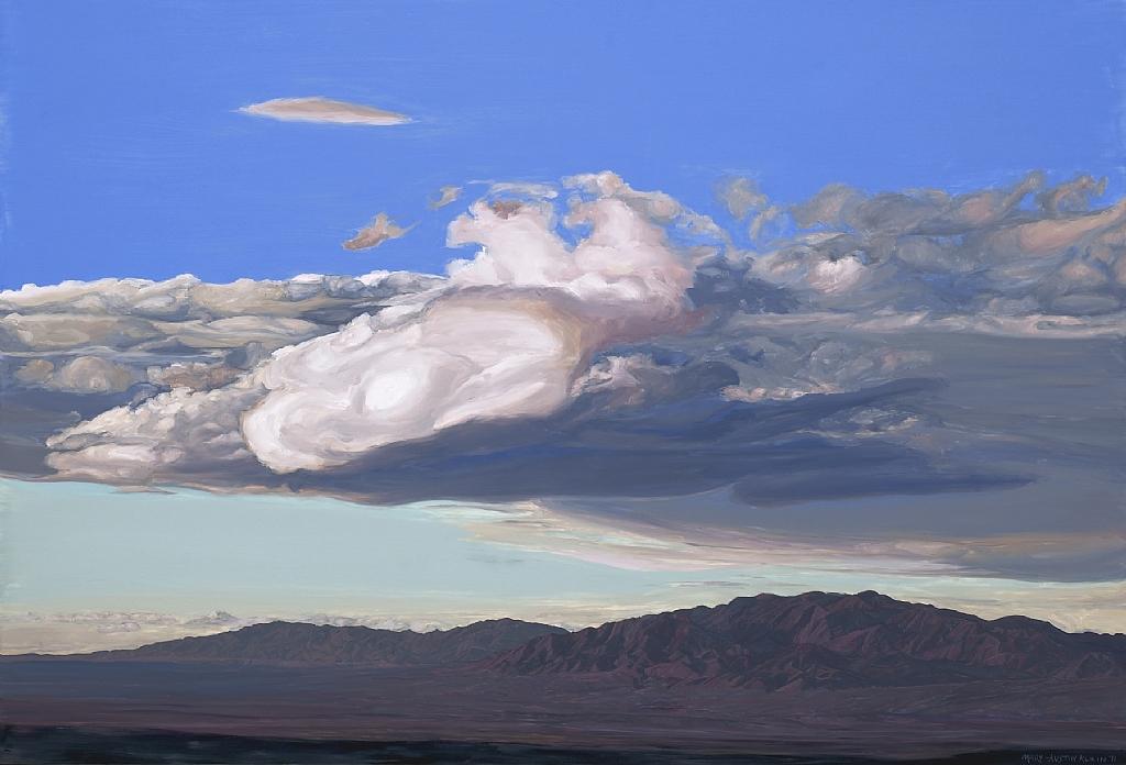 """Wonder Valley Evening by Mary-Austin Klein Oil ~ 15"""" x 22"""""""