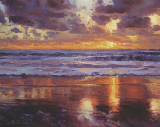 On The Horizon by Steve Henderson Oil ~ 24 x 30