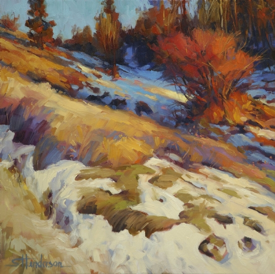 Emergence by Steve Henderson Oil ~ 20 x 20