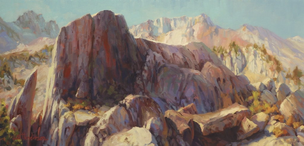 Ascension by Steve Henderson Oil ~ 18 x 36