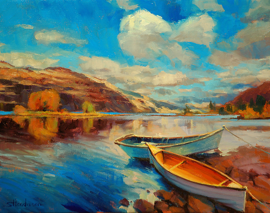 Shore Leave -- Signed, Limited Edition Print by Steve Henderson  ~  x