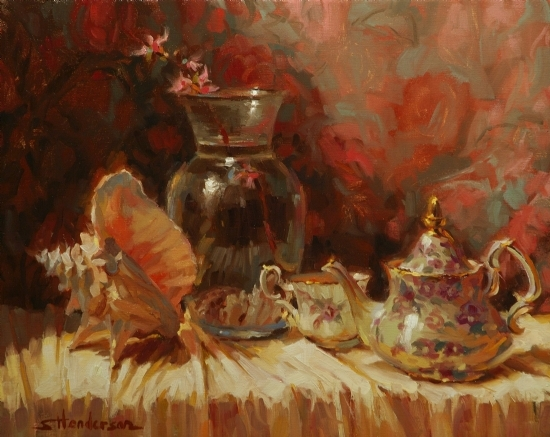 Tea by the Sea -- Signed, Limited Edition Print by Steve Henderson  ~  x 
