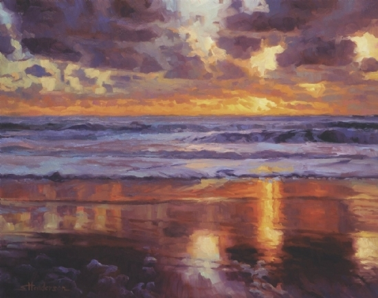 On the Horizon -- Signed, Limited Edition Print by Steve Henderson  ~  x