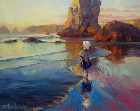 Bold Innocence by Steve Henderson Oil ~ 24 x 30