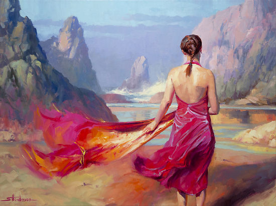 Cadence by Steve Henderson Oil ~ 30 x 40