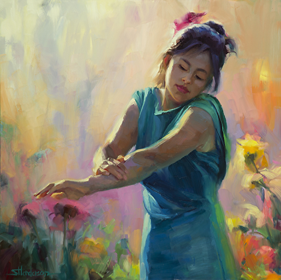 Enchanted by Steve Henderson Oil ~ 20 x 20