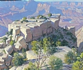 Moran Point - Grand canyon by Robert Goldman