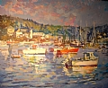 Afternoon Light- Bass Harbor by Dennis Poirier
