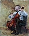 The Cellist by Taaron Parsons
