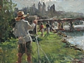 Plein Air Painters by Abby Warman