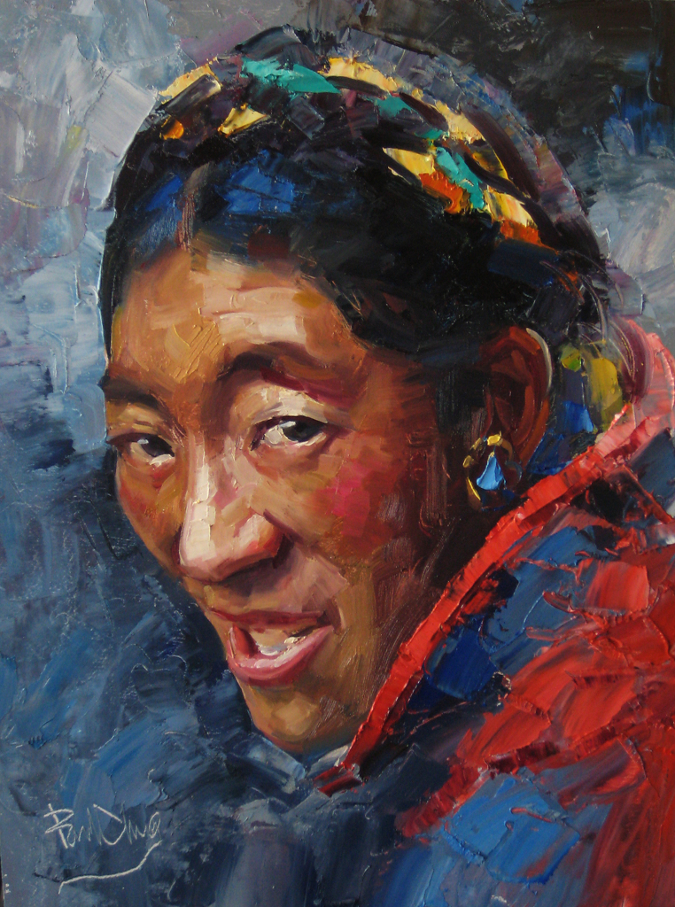 Paul Cheng - Tibet Women- Oil - Painting entry - January 2012 ...