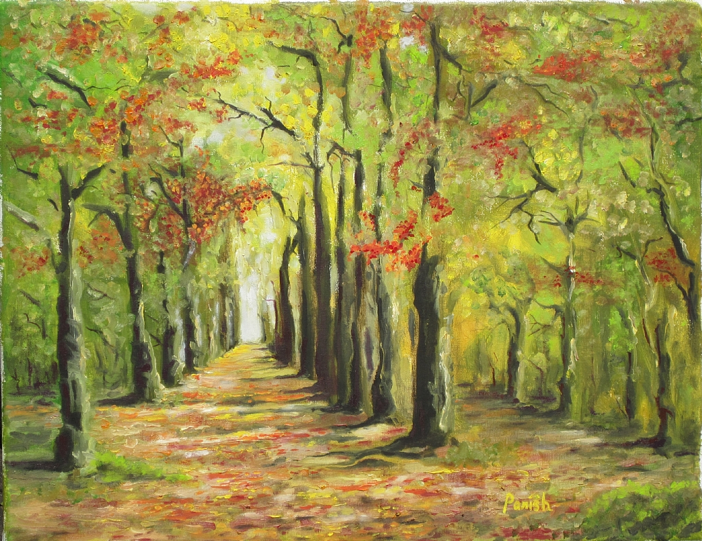 - The Road Not Taken- Oil - Painting entry - March 2012 ...