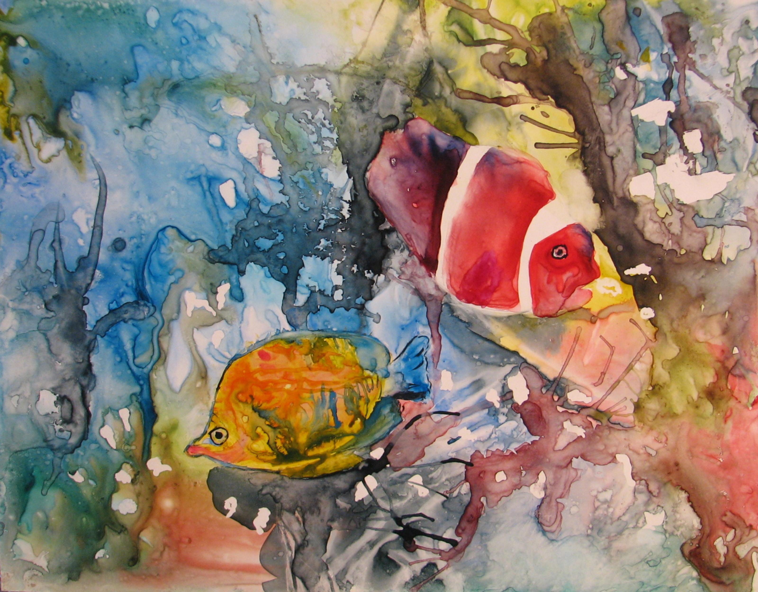Gloria Couture - Fond de mer - Underwater world ...