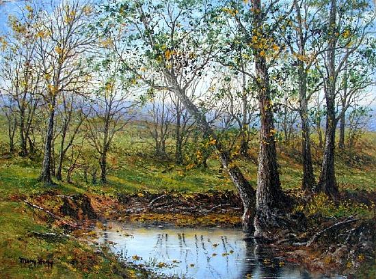 An example of fine art by MARY HAGY