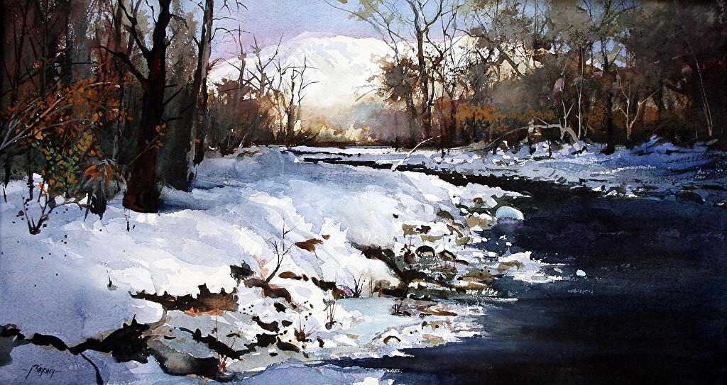 美国当代画家 Ron.Bigony 水彩画(2) - 纽约文摘 - 纽约文摘