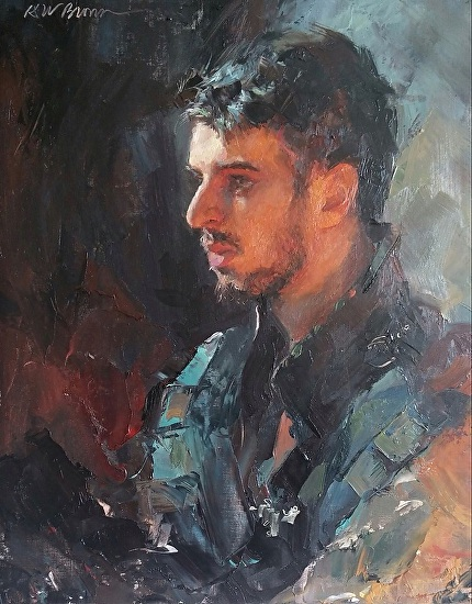 Prince of Thieves by Krystal Brown was selected as FAV 15% in the December 2014 BoldBrush Painting Competition.
