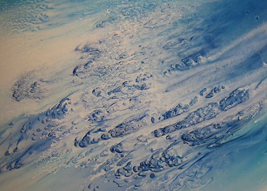 Breaking by Debra LePage was awarded Outstanding Abstract in the March 2015 BoldBrush Painting Competition.