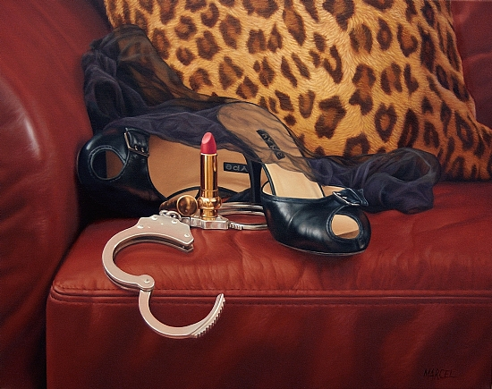 "Lust  -  Marcel Franquelin Oil 20"" x 16"" - Entered On 06-17-2010"