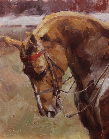 Saddlebred Spirit  -  Lindsey Bittner Graham Oil 11 x 14 - Entered On 02-22-2011