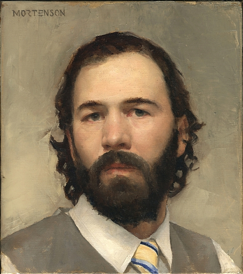 Self Portrait  -  Gregory Mortenson Oil 9&quot; x 10&quot; - Entered On 05-31-2011