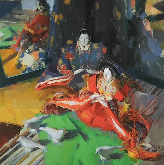 An example of fine art by Louis Escobedo