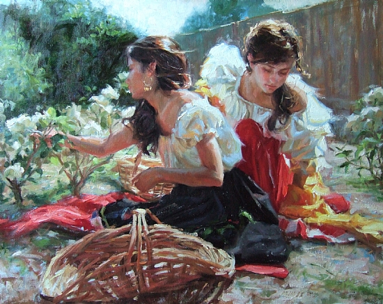 An example of fine art by Gladys Roldan-de-Moras