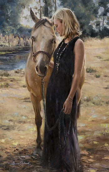 An example of fine art by Ariana Richards